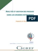 Analyse Et Gestion Des Risques Dans Les Grandes Entreprises - Impacts Pour La DSI-Rapport 2007 Web