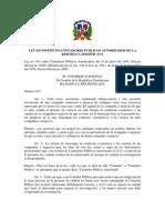 Ley-633 Sobre Contadores Publicos Autorizados .