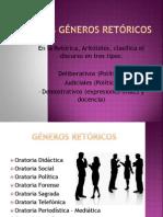 Los Géneros Retóricos