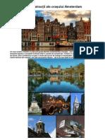 10 atracţii ale oraşului Amsterdam