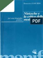 Losurdo Domenico - Nietzsche e la critica della modernità