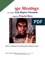 Strange Meetings