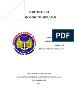 Portofolio Fisiologi Tumbuhan