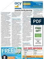 Pharmacy Daily for Mon 10 Sep 2012 - Pharmacists family planning, Accreditation consultation, Pharmacy shopping, Expanded International Code and much more...