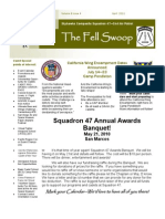 The Fell Swoop - April 2011