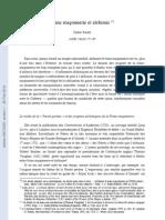 Didier KAHN Franc-maçonnerie et alchimie