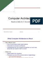 ארכיטקטורה- הרצאה 1. | Introduction