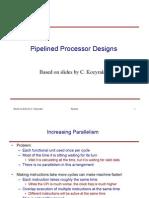 ארכיטקטורה - הרצאה 3 | Pipeline