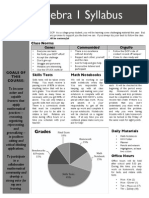 DCP Algebra Syllabus Final Draft