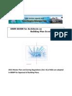 BBMP Building Plan Document