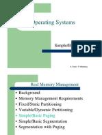 מערכות הפעלה- הרצאה 7 יחידה ג | Real Memory