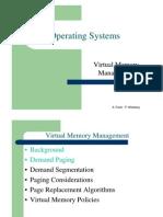 מערכות הפעלה- הרצאה 8 יחידה א | Virtual Memory