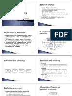 הנדסת תוכנה- הרצאה 9 |  Software Evolution