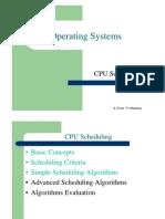 מערכות הפעלה- הרצאה 9 יחידה א | CPU