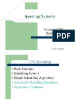 מערכות הפעלה- הרצאה 9 יחידה ב | CPU