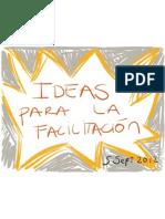 Ideas para la Facilitación