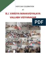 Teacher's Day Celebration at BJVM