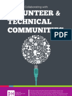 Guidance for Collaborating With Volunteer and Technical Communities (v&TCs) - Version 1