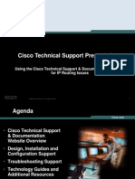 Using Tech Support Website IP Routing 20Aug2006