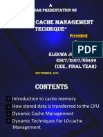 Dynamic Cachememory Management Techniques2