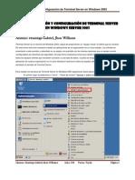 Laboratorio 05 - Instalación y Configuración de Terminal Server en Windows Server 2003