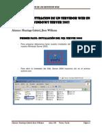 Laboratorio 06 - Administración de un Servidor Web en Windows Server 2003
