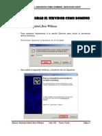 Laboratorio 07 - Configurar El Servidor Como Dominio, DHCP en Windows Server 2003