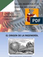 RESEÑA ING. MECANICA