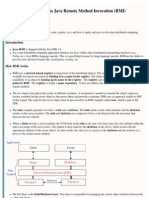 Intro to Java RMI