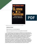 El Fetiche de La Constitucion