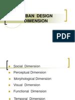 Urban Design Dimension