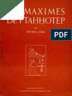 Maximes Ptahhotep