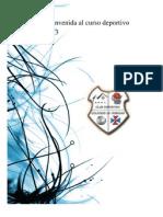 Carta de Bienvenida al curso deportivo 2012-2013