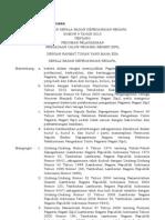 Perka Bkn Nomor 9 Tahun 2012 Tentang Pedoman Pelaksanaan Pengadaan Cpns