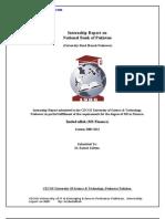 Internship Report on NBP 4