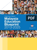 Preliminary Malaysia Education Blueprint 2013-2025(English)