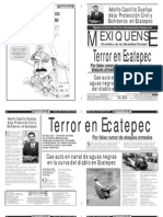 Versión impresa del periódico El mexiquense 7 septiembre 2012