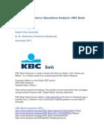 Facebook Commerce Analysis - KBC Ireland