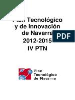 Plan Tecnológico y de Innovación de Navarra 2012-2015