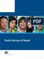 Youth Survey of Nepal 2011 AYON and British Council