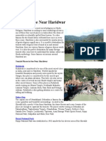 Places to See Near Haridwar