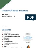 Octave Matlab Tutorial