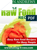 Simple Raw Food Recipes Final Master
