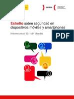Estudio sobre seguridad en dispositivos móviles y smartphones (Informe anual 2011)