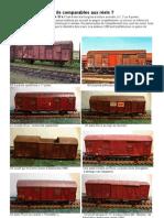 Modélisme ferroviaire à l'échelle HO. 2. Dossier Wagons G 4 HL
