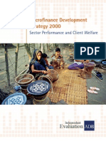 Microfinance Development Strategy 2000