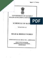 Schedule of Rates Road Bridge 2011-12