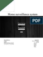 Home+Surveillance+System+ +Team+3