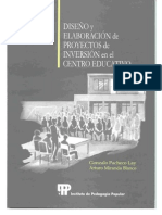 Diseño y Elaboración de Proyectos IPP