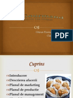 Proiect Patiserie